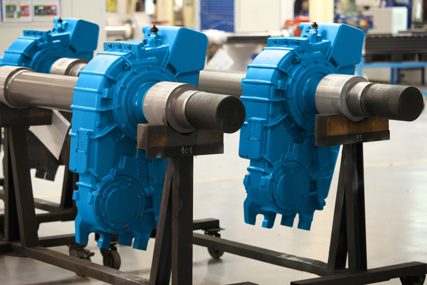 Railway gearboxes of IGW rail