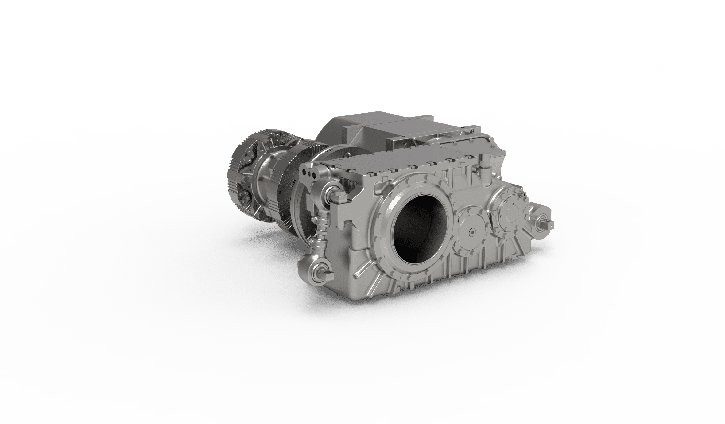 Prototype LRV gearbox helical 2-stage