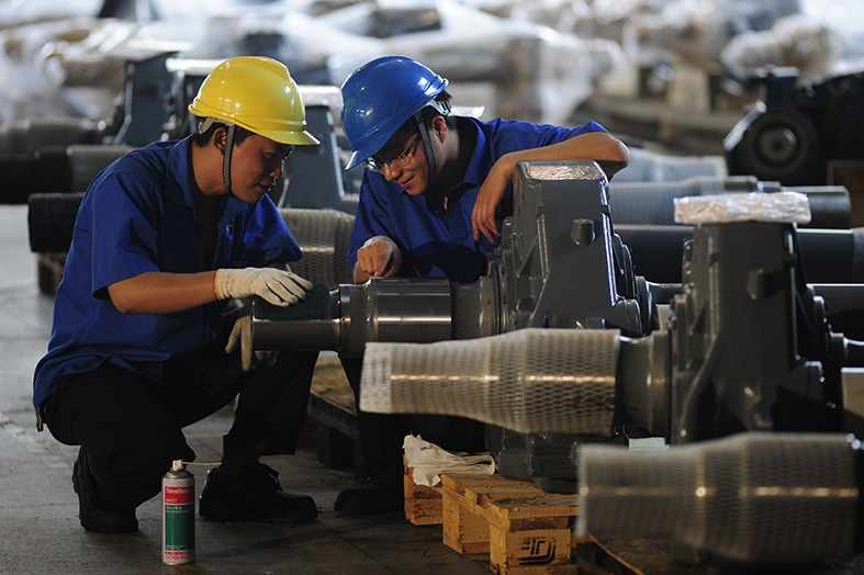 Overhaul gearboxes from IGW rail China